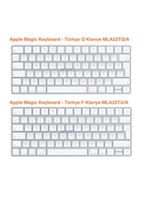 Apple Apple Magic Keyboard - Turkish F-Keyboard Renkli